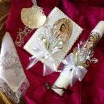 Baptism Candle Set/ Vela P..