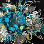 Bridal Bouquet In Turquois..